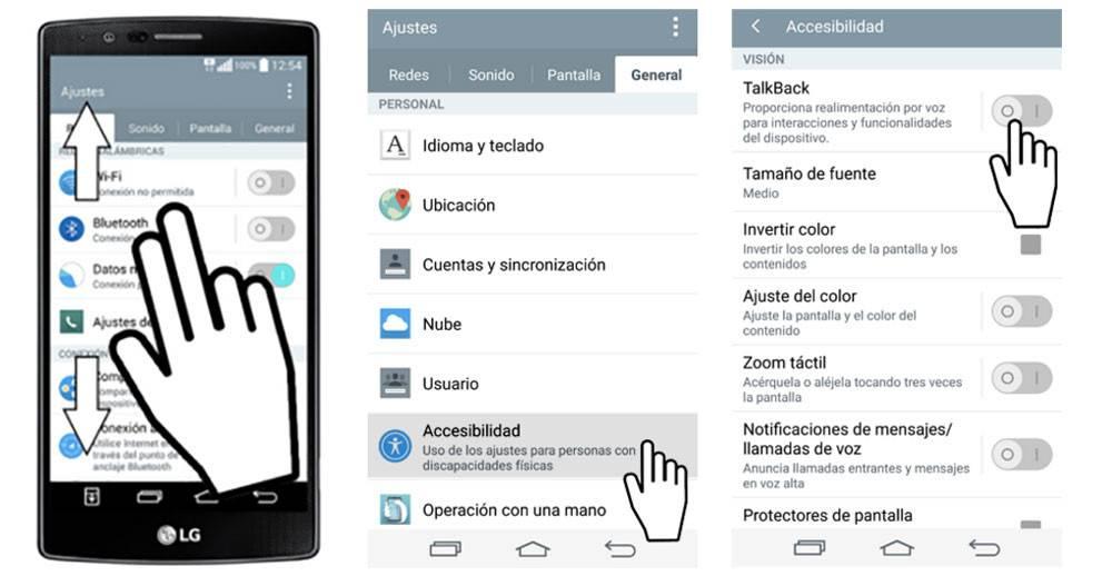 Обзор специальных возможностей android