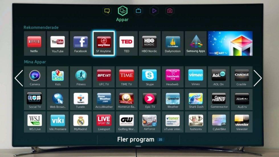 Как смотреть тв бесплатно через интернет. samsung smart tv — приложение для просмотра iptv.