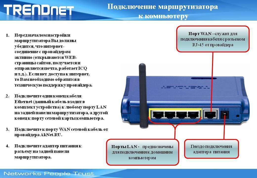 Как подключить интернет от роутера к компьютеру (ноутбуку) по сетевому кабелю?