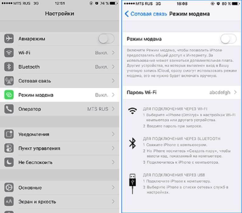 Iphone как usb модем для компьютера и ноутбука на windows — как подключить режим wifi адаптера на айфоне?