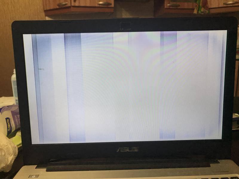 Что делать, если ноутбук включается, но экран черный