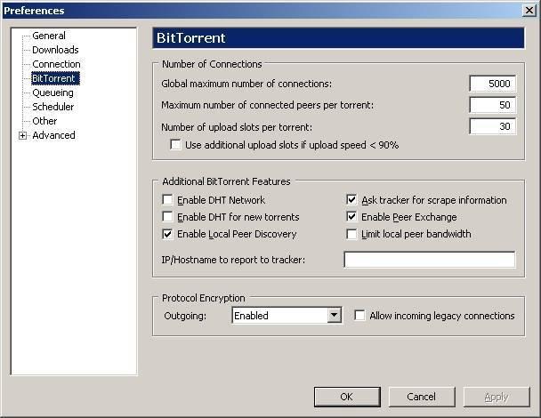 Проблемы с utorrent при работе через wi-fi роутер: пропадает соединение, роутер перезагружается, медленно работает интернет