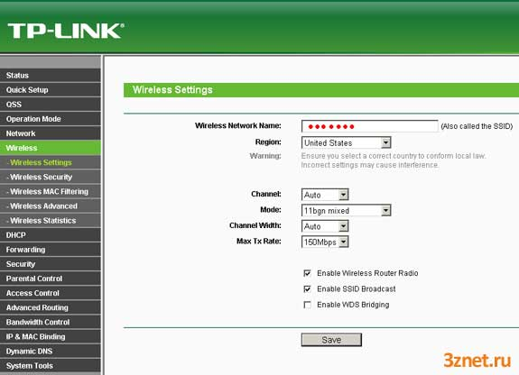 [openwrt wiki] tp-link tl-wr743nd