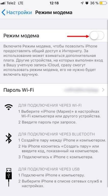 Способы раздачи wi-fi с iphone