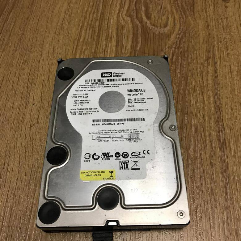 Жесткие диски Western Digital — сравниваем WD Red и WD SE