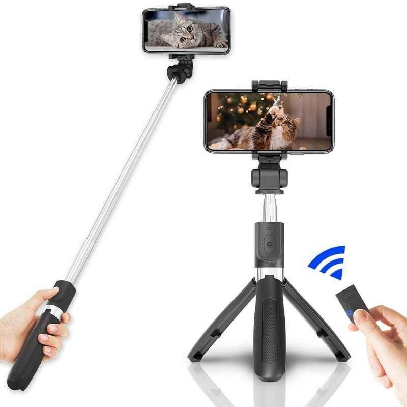 Обзор селфи палки xiaomi mi selfie stick tripod — монопода штатива с пультом и кнопкой для телефона, инструкция, как подключить к андроид или айфону