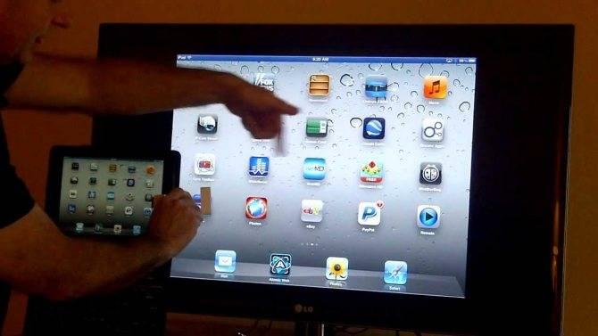 Как подключить ipad к телевизору 7 разными способами