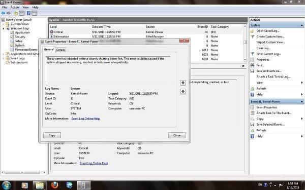 Ошибка: kernel-power код 41 категория (63)windows 10 | windd.ru