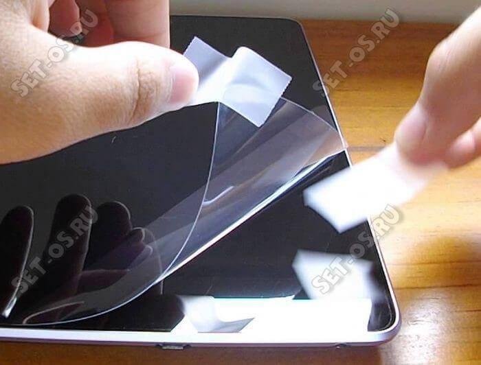 Как наклеить пленку без пузырьков на телефон: пошаговая инструкция