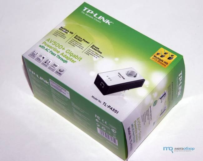 Обзор PowerLine Адаптера TP-LINK TL-WPA4220 Kit