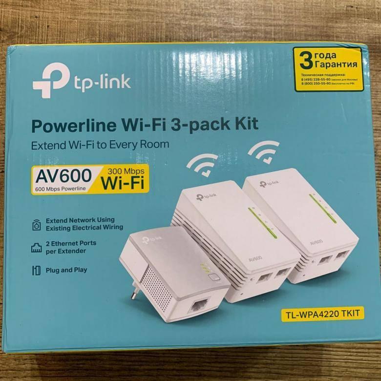 Powerline адаптер tp-link tl-wpa4220 kit - обзор и тесты скорости