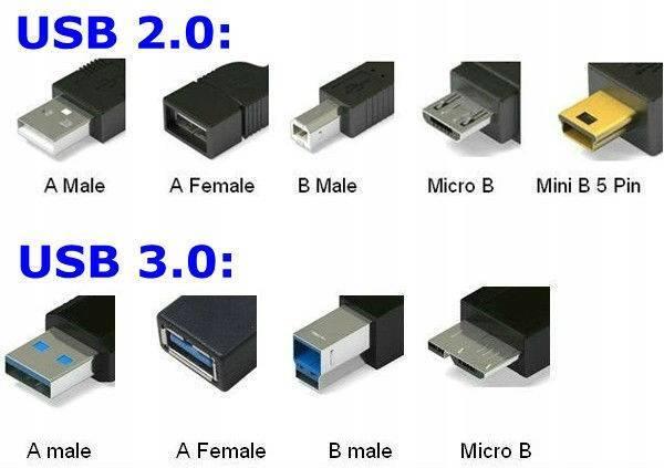 Стандарты usb – от 1.0 до 3.1 поколения. в чем разница