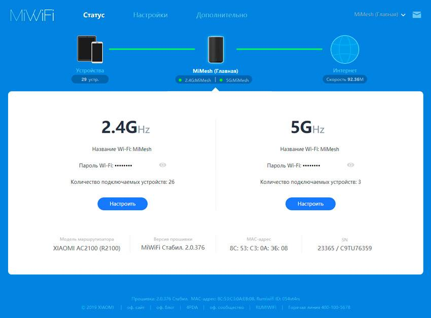 Обзор xiaomi mi wi-fi router 4 — настройка маршрутизатора и подключение к интернету