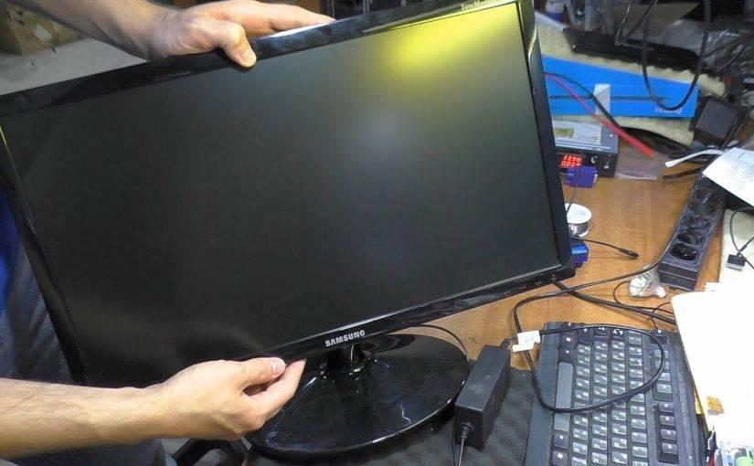 Не включается монитор при запуске компьютера: причины и решения