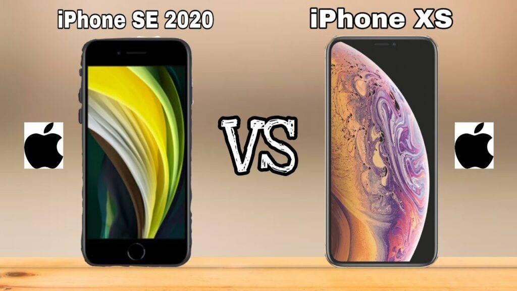Чем отличается новый iphone se от старого iphone 8