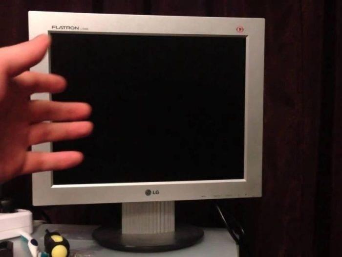 Почему не работает монитор на компьютере. что делать?