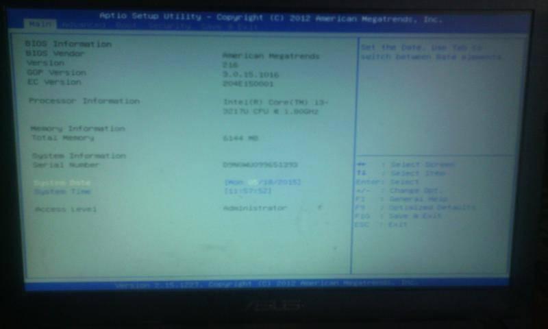 Ноутбук acer черный экран при включении что делать