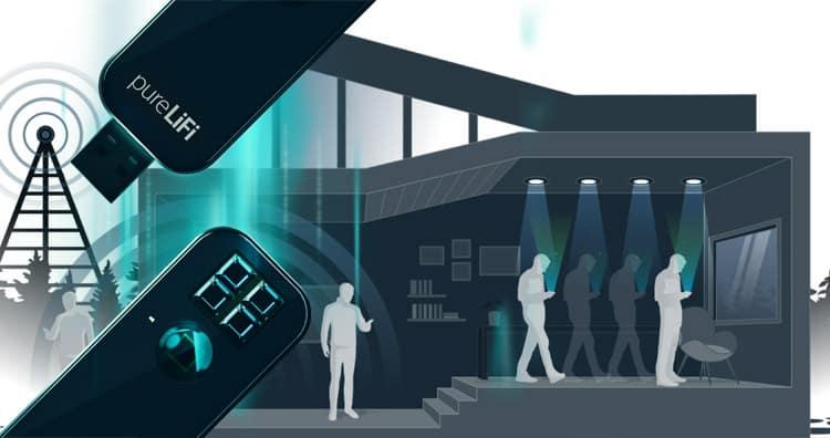 Li-fi внесет новую жизнь в промышленную передачу данных