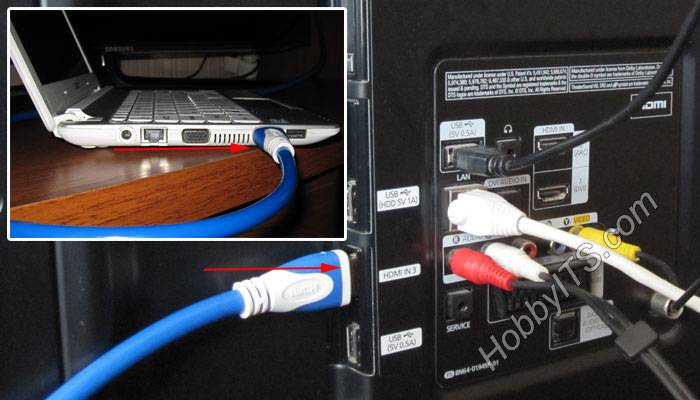 Как подключить компьютер к телевизору: 5 способов