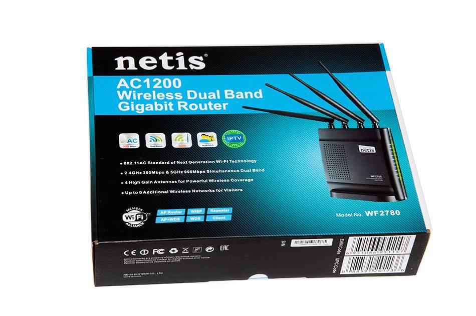 Обзор wifi роутера netis n4 — настройки и отзыв о беспроводном маршрутизаторе ac1200