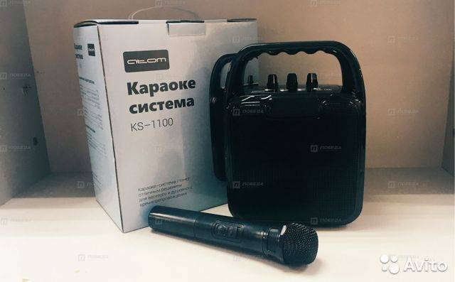 Беспродводная караоке система atom ks-1500 - обзор и отзыв - вайфайка.ру