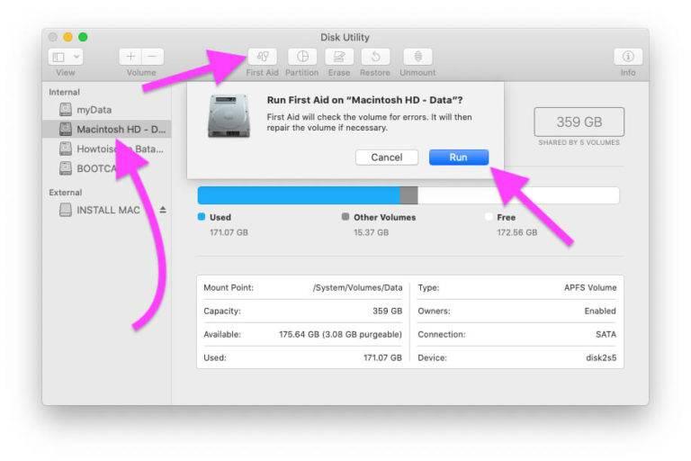 Как узнать mac-адрес сетевого оборудования в macos