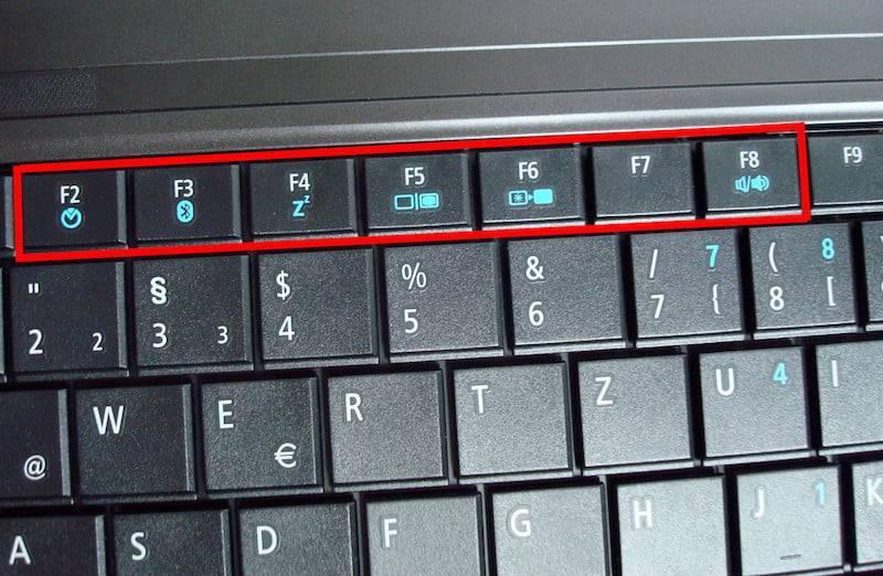 Не работают кнопки f1–f12 на клавиатуре – поиск причины и решение