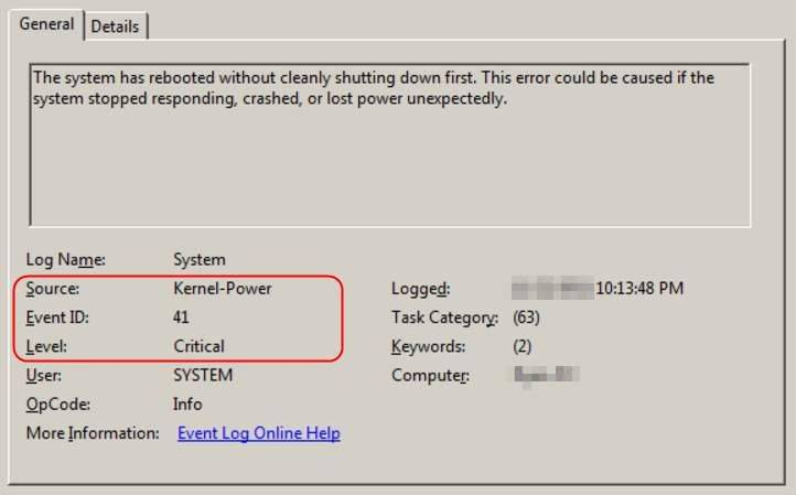 Kernel power причины ошибки windows 7 - вэб-шпаргалка для интернет предпринимателей!