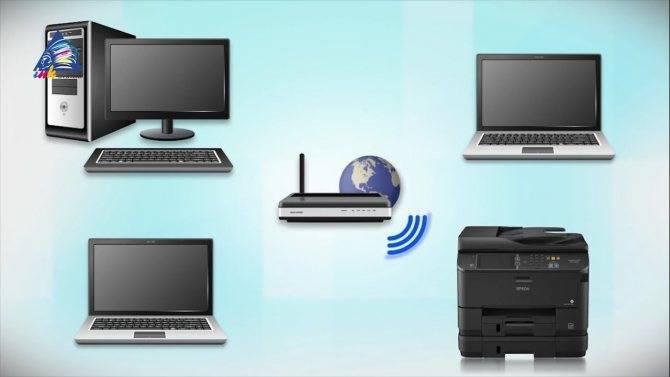 Принтер не печатает по wifi. подключаем принтер к ноутбуку по wi-fi.