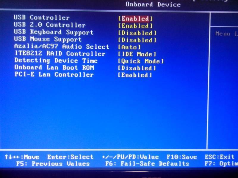 После переустановки windows не работают usb-порты