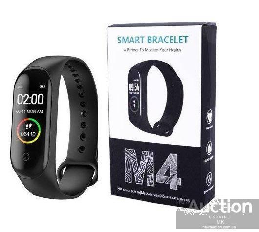 Фитнес браслет m4 smart bracelet, конкурент xiaomi — обзор, отзыв и инструкция