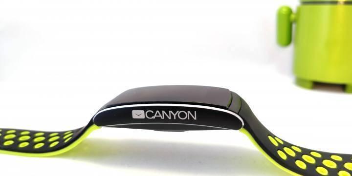 """Фитнес-трекер canyon cns-sb41bg 0.96"""" черный / черный/зеленый [stlcnssb41bg] (3225611) купить за 1690 руб в новосибирске, видео обзоры - sku3225611"""