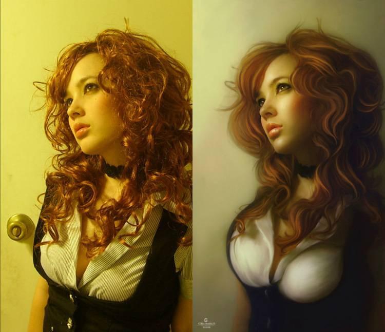Как сделать арт из фото