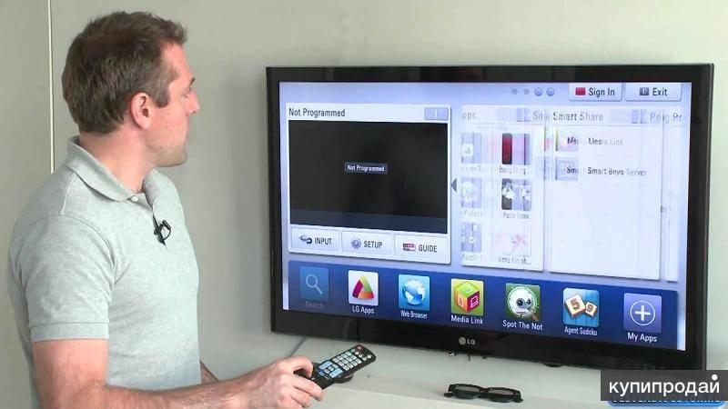 Как на телевизоре lg настроить интерактивное телевидение ростелеком