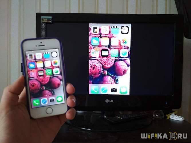 Как доступными способами вывести изображение с айфона и айпада на телевизоры разных фирм?