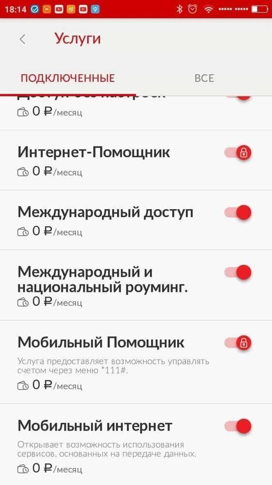 Описание опции «везде как дома россия» от мтс