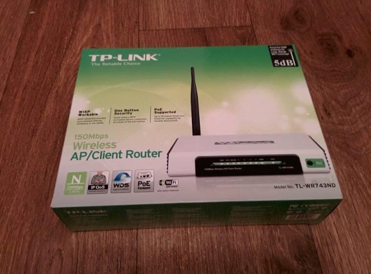 Tp-link tl-wr743nd – обзор, настройка, прошивка