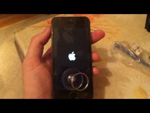 Что делать, если не включается айфон 5s, загорается яблоко, потом красный экран
