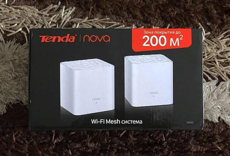 Обзор tenda nova mw3-3 - отзыв о скорости wifi mesh сетка