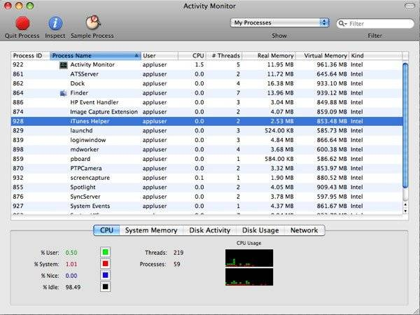 Как вызвать «диспетчер задач» в windows 10