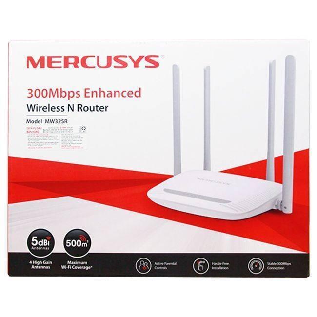 Обзор роутера mercusys mw325r (n300) — отзыв владельца