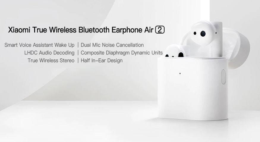 Apple airpods vs xiaomi mi true wireless earphones 2
