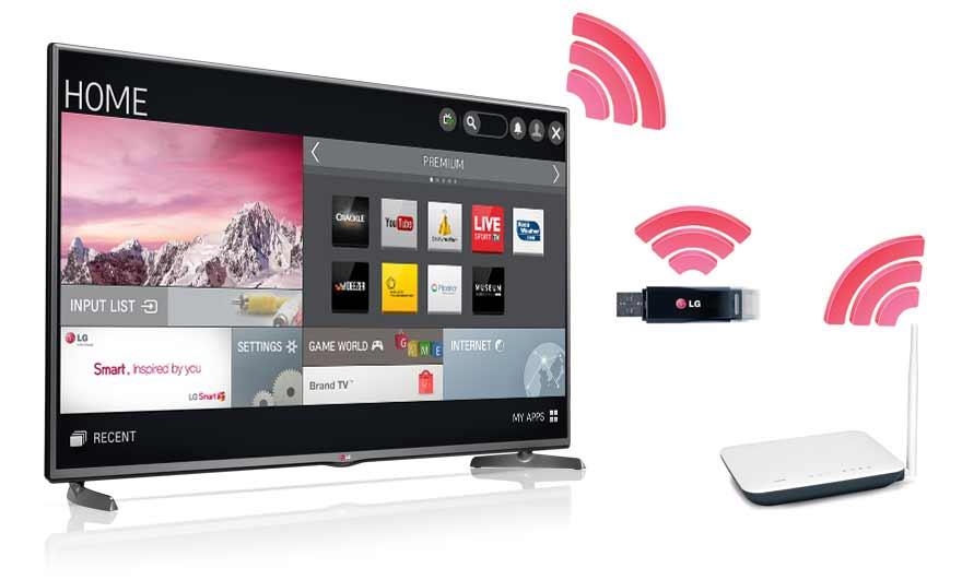 Самостоятельное подключение телевизора к wi-fi