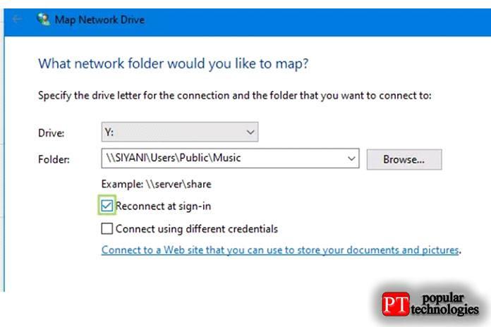 Как подключить сетевой диск windows 10 из общей папки на компьютере или ноутбуке?