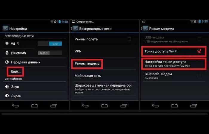 Как использовать андроид телефон в качестве модема