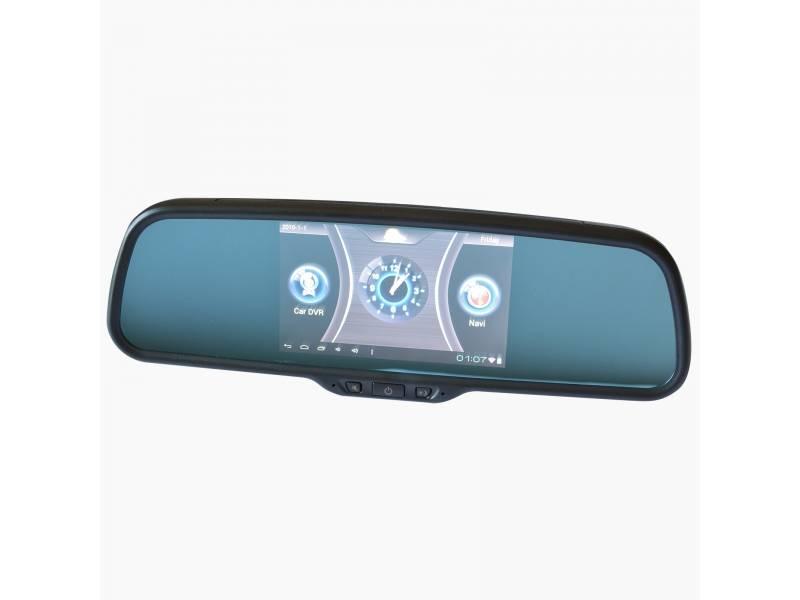 Зеркало регистратор заднего вида с навигатором и камерой - вайфайка.ру