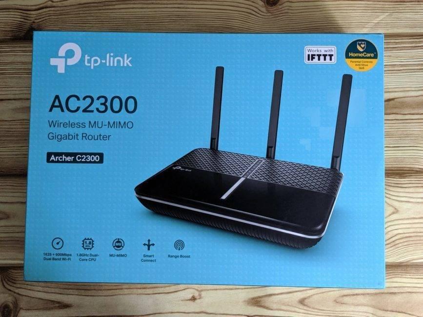 Как подключить и настроить wi-fi роутер tp-link archer c2300?