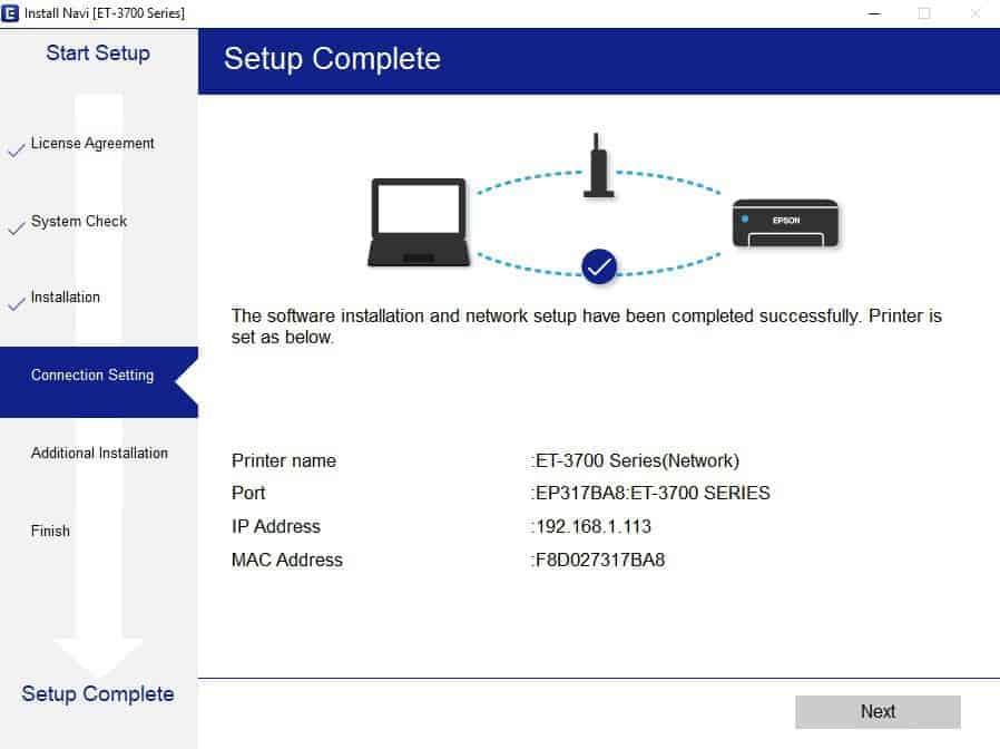 Подключение и настройка принтера по wifi