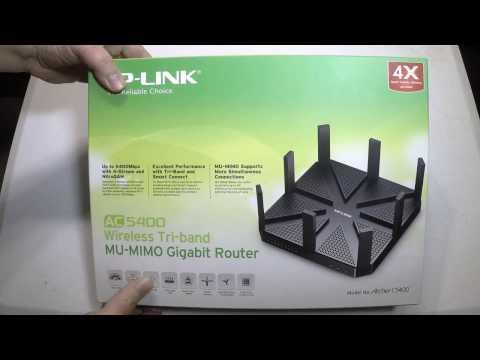 Подключение и настройка роутера tp-link archer c5400x