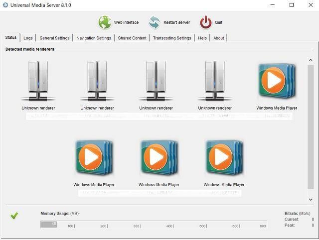 Запуск dlna-сервера в среде windows и управление им с android-устройства | белые окошки